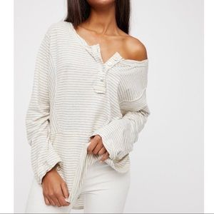 Free People We The Free Hong Kong Striped Top
